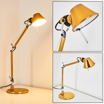 Artemide TOLOMEO MICRO Table Lamp yellow, 1-light source, Colour changer