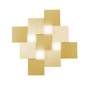 Grossmann CREO Ceiling Light LED brass, 4-light sources