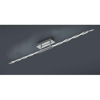 Trio PORTOFINO ceiling light LED chrome, 4-light sources, Remote control