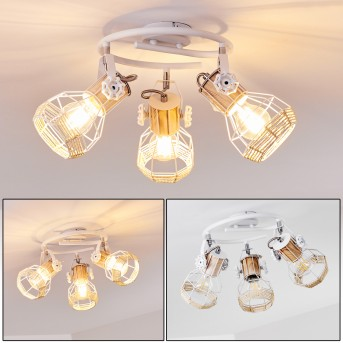 Barbacena Ceiling Light white, 3-light sources