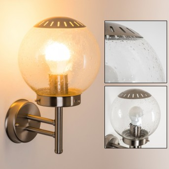 CORDOVA Outdoor Wall Light stainless steel, 1-light source