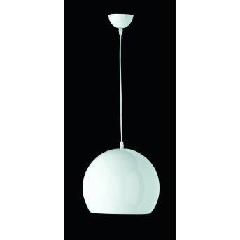 Reality BOBBY pendant light white, 1-light source