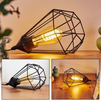 CENOVA Table lamp black, 1-light source