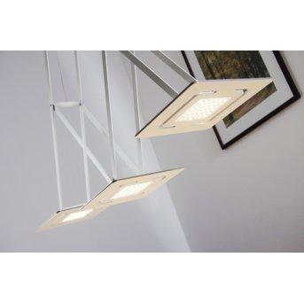 Eva Luz SLIDE hanging light LED white, 3-light sources