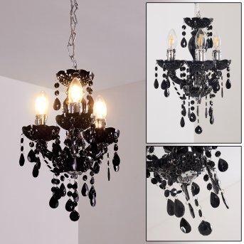 Malmback chandelier black, 3-light sources