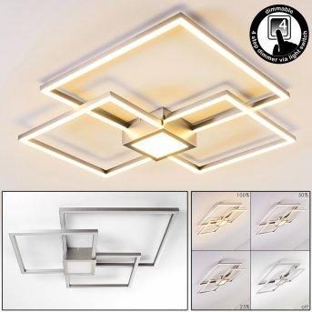 Narpes Ceiling Light LED matt nickel, 1-light source