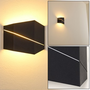 Fanas Wall Light LED black, 1-light source
