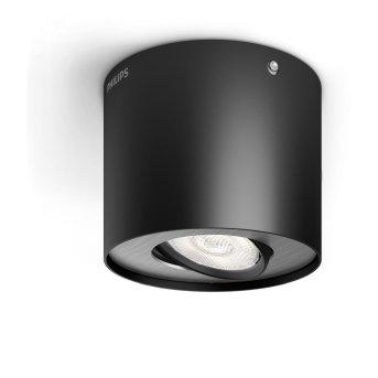 Philips PHASE Ceiling light LED black, 1-light source
