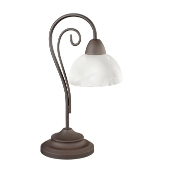 Reality COUNTRY table lamp rust-coloured, 1-light source