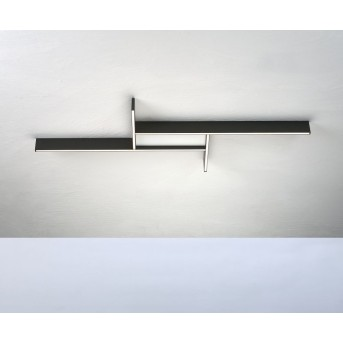 Bopp NANO PLUS COMFORT Ceiling Light LED aluminium, white, 1-light source