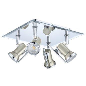 Eglo TAMARA 1 ceiling spotlight matt nickel, 4-light sources