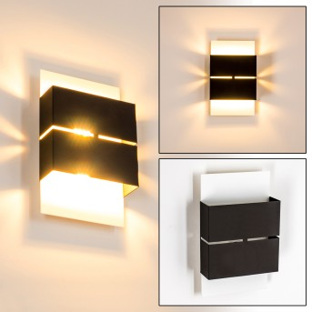 Tidan Outdoor Wall Light LED white, 2-light sources