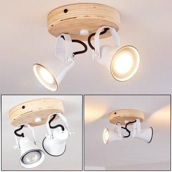 Skodsbol Ceiling Light Light wood, 2-light sources