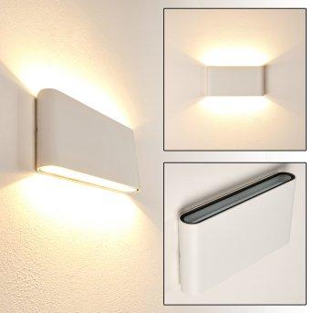 MARSH Outdoor Wall Light LED white, 2-light sources
