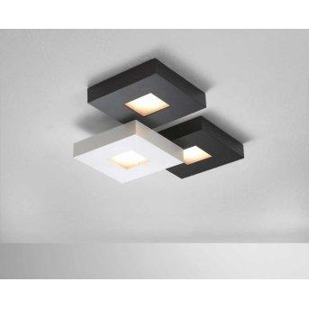 Bopp CUBUS ceiling light LED black, white, 3-light sources