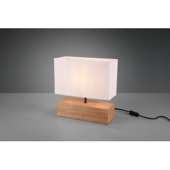 Reality WOODY Table lamp LED Light wood, 1-light source
