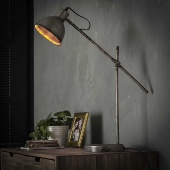 MELWERUM Table Lamp rust-coloured, 1-light source