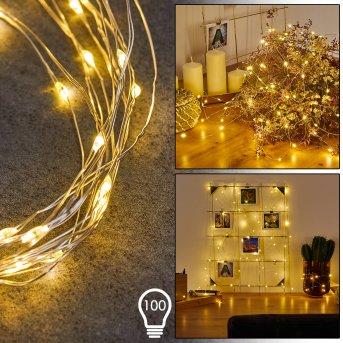 SONDRIO rope lights LED, 100-light sources
