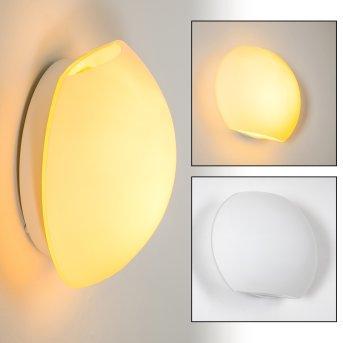 Concha Wall Light white, 1-light source