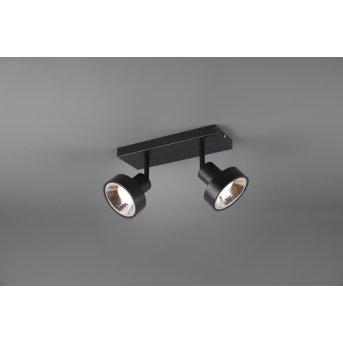 Trio LEON Spotlight LED black, 2-light sources
