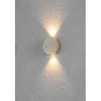 Escale SUN wall light LED gold, 2-light sources