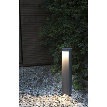 Faro Chandra pedestal light LED anthracite, 1-light source