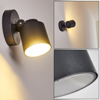 Outdoor Wall Light Apenrader LED anthracite, 1-light source