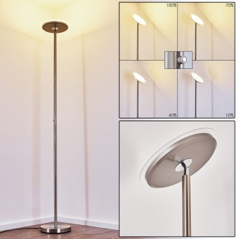 Wonsbek Floor Lamp LED matt nickel, 1-light source