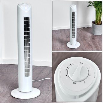 BENIDORM standing fan white