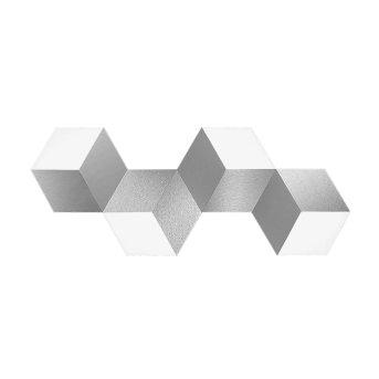 Grossmann GEO Wall and Ceiling light LED aluminium, 4-light sources
