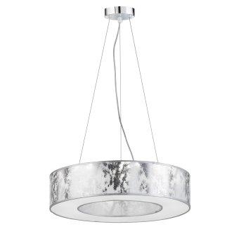 Wofi LEIKA pendant light LED silver, 1-light source