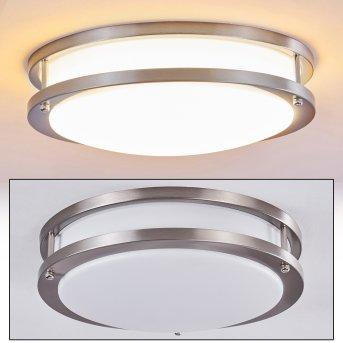 SORA Ceiling light LED matt nickel, white, 1-light source