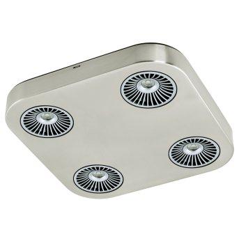 Eglo Montale Ceiling Light LED matt nickel, 4-light sources