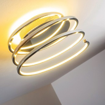 Sepino ceiling light LED chrome, 1-light source