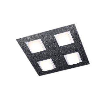 Grossmann BASIC Ceiling light LED anthracite, 4-light sources