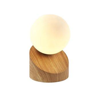 Nino Leuchten ALISA Table Lamp LED Light wood, 1-light source