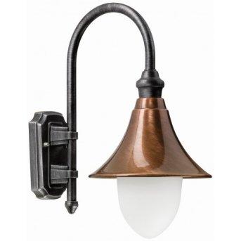 Lcd Lengerich wall light copper, 1-light source