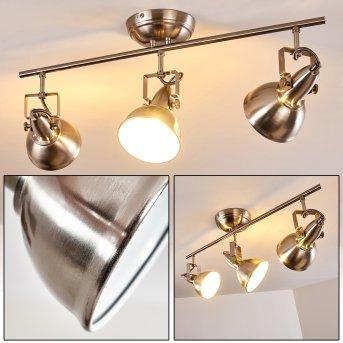 TINA ceiling light matt nickel, 3-light sources