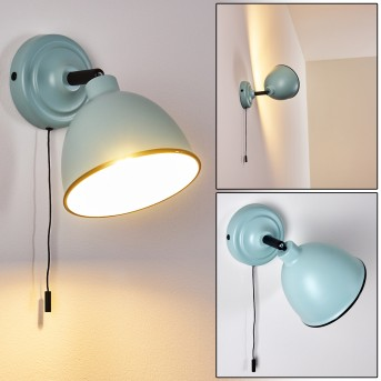 Catharine Wall Light blue, black, 1-light source