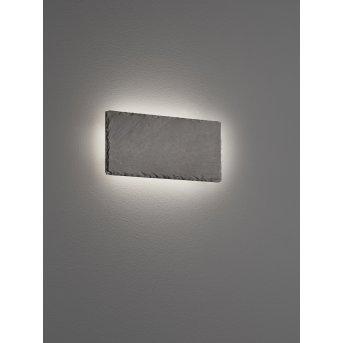 Trio RAVEN Wall Light LED black, 1-light source