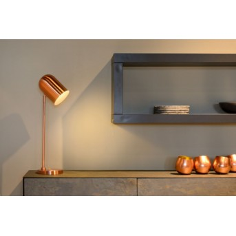 Lucide BLINY table lamp copper, 1-light source