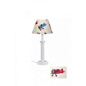 Waldi Flugzeuge table lamp white, 1-light source