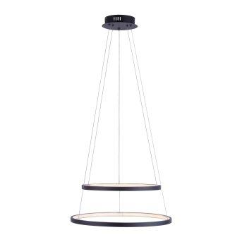 Leuchten Direkt CIRCLE Pendant Light LED anthracite, 1-light source