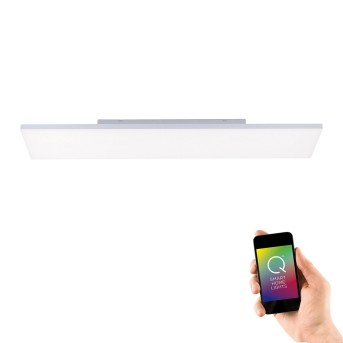 Paul Neuhaus Q-FLAG Ceiling light LED white, 1-light source, Remote control, Colour changer