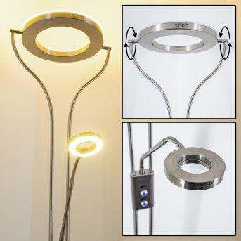 Donna uplighter LED matt nickel, 1-light source