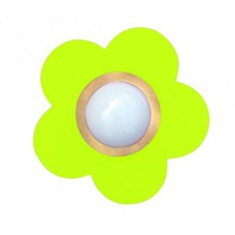 Waldi Fleur petit ceiling light green , 1-light source