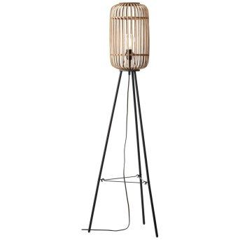 Floor Lamp Brilliant Woodrow brown, 1-light source