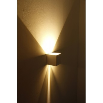 Helestra SIRI 44 wall light LED white, 2-light sources