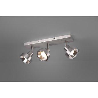Trio LEON Spotlight LED matt nickel, 3-light sources
