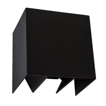 KS Verlichting Channel Wall Light LED black, 2-light sources